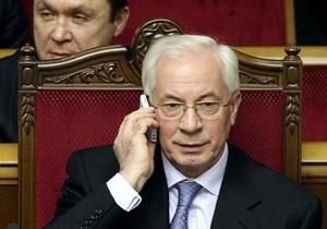 Азаров поручил Тигипко стабилизировать цены