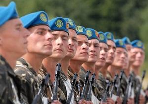 Украина впервые заступила на дежурство в Силах реагирования НАТО