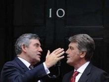 Ющенко призвал Британию помочь Украине с ПДЧ в НАТО и признанием Голодомора