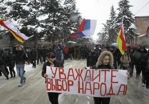 Экс-министр обороны Южной Осетии: в Цхинвали могут собраться до десяти тысяч сторонников Джиоевой