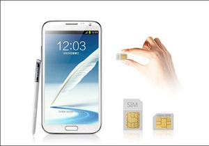 Samsung выпустит Galaxy Note II с поддержкой двух SIM-карт