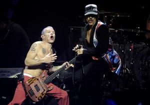 Украинские поклонники установили рекорд посещаемости на сайте Red Hot Chili Peppers