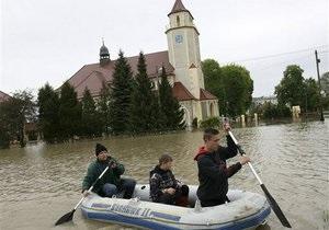 Уровень воды в Висле превысил допустимую норму. Варшава готова к эвакуации