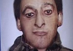 Опубликован фоторобот подозреваемого в организации теракта в Осетии