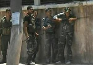 Рядом со зданием правительства Сирии в Дамаске идут бои
