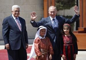 Путин: В Вифлееме на улице, названной в честь российского президента построят культурный центр