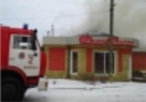 В Херсоне более пяти часов пожарные не могли потушить кафе при пекарне