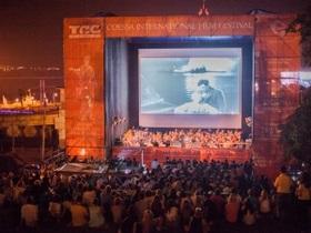 Одесский кинофестиваль - новости Одессы: Классику немого кино показали на Потемкинской лестнице в Одессе
