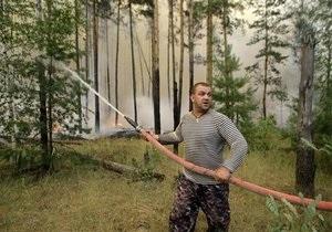 Янукович: Украина окажет России помощь в борьбе с пожарами