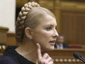 Тимошенко: Украина вовремя рассчитается с Газпромом за газ