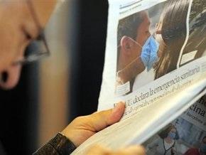 За два дня свиным гриппом заболели 2000 человек (обновлено)