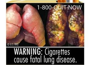 Крупнейшие табачные компании США судятся с властями из-за картинок на пачках сигарет