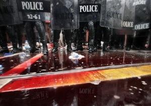 Демонстранты залили кровью дом тайского премьера