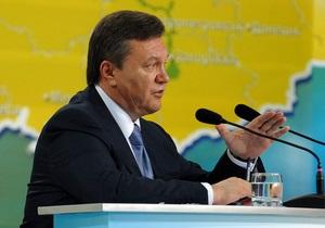 Изменения в Конституцию: Янукович предложит усилить роль местных властей