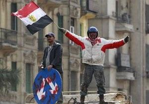 Египетских оппозиционеров разогнали слезоточивым газом