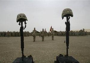 Потери США в Афганистане в 2009-м удвоились по сравнению с предыдущим годом