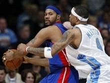 NBA: Детройт одолел Денвер