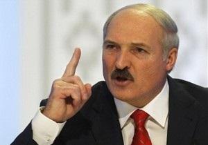 Евросоюз запустил механизм санкций против руководства Беларуси