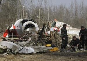 Ярослав Качиньский возложил вину за крушение Ту-154 под Смоленском на россиян