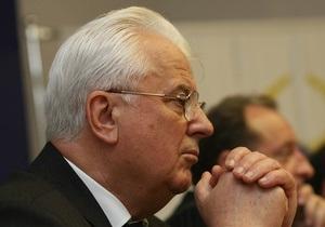 Кравчук: Украина согласилась до 2042 года быть страной с ограниченным суверенитетом