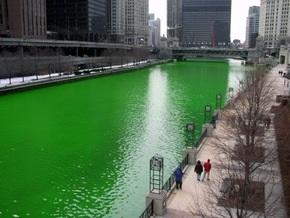 В Киеве из кранов может потечь зеленая вода