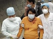 В Китае оползень накрыл кирпичный завод: 19 жертв