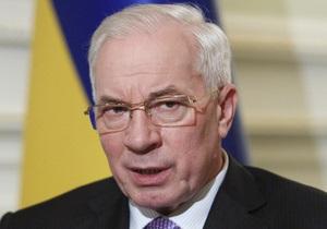 Азаров назвал объединенную оппозицию ответственной за кризис в экономике
