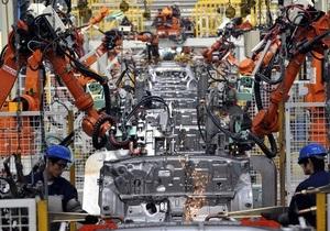 Украина увеличила производство легковых авто более чем в два раза