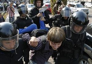 Фотогалерея: Перешли в наступление. В Киеве произошли столкновения студентов с милицией