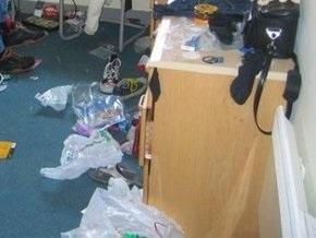 Немка перепутала домашний беспорядок со следами ограбления