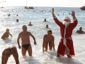 Крымские дайверы встретят Новый год под водой