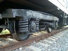 В Днепропетровске сошли с рельс 14 вагонов