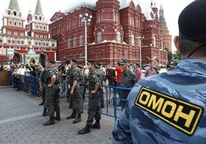 В центре Москвы начались задержания