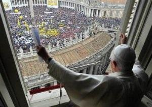 В Ватикане прошла акция в поддержку Папы Римского