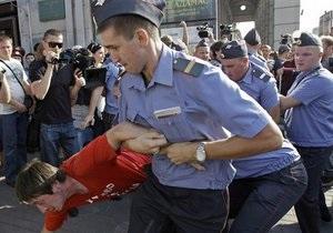 США выразили озабоченность разгоном митинга оппозиции в Москве