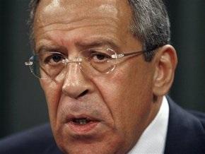 Российских журналистов не пустили на выступление Лаврова в Брюсселе