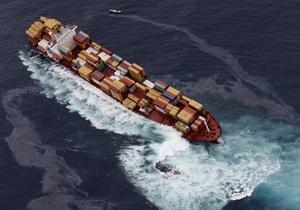 Греция - В Эгейском море столкнулись два грузовых судна