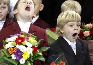 В Украине сегодня в первый класс придут около 430 тысяч детей