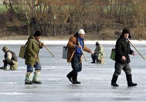 В Киеве утонул рыбак