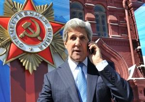 Керри в Москве обсудил с Путиным сирийский конфликт