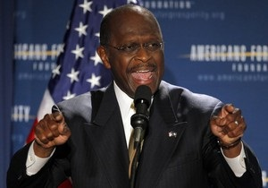 Выбывший из президентской гонки Кейн высказался в поддержку сразу двух кандидатов-республиканцев