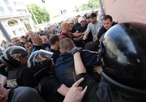 Захарченко - МВД - драки - милиция - Рада - митинг - нападение на журналистов - Захарченко выступит перед депутатами в Раде по поводу событий на митинге 18 мая