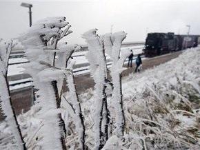 На центральную Европу обрушились сильные снегопады