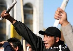 В Кыргызстане разогнали митинг оппозиции