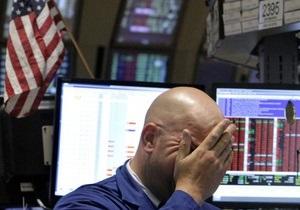 Биржи США пережили крупнейший обвал за последние два года