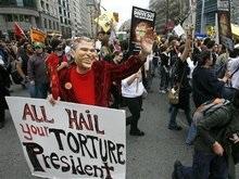 В США прошли акции протеста против войны в Ираке