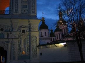 На Софийской площади Киева установлен вертеп