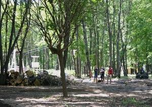 В Харькове в парке Горького вырубили 200 деревьев. Возбуждено дело