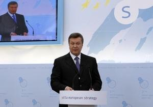 Сегодня Янукович обратится к украинскому народу