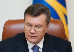 Янукович сменил двух губернаторов